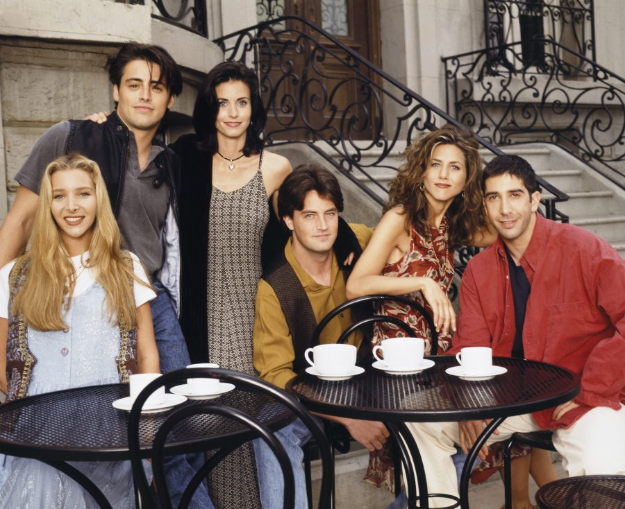 David Schwimmer's line flub led to this iconic <em>Friends</em> moment