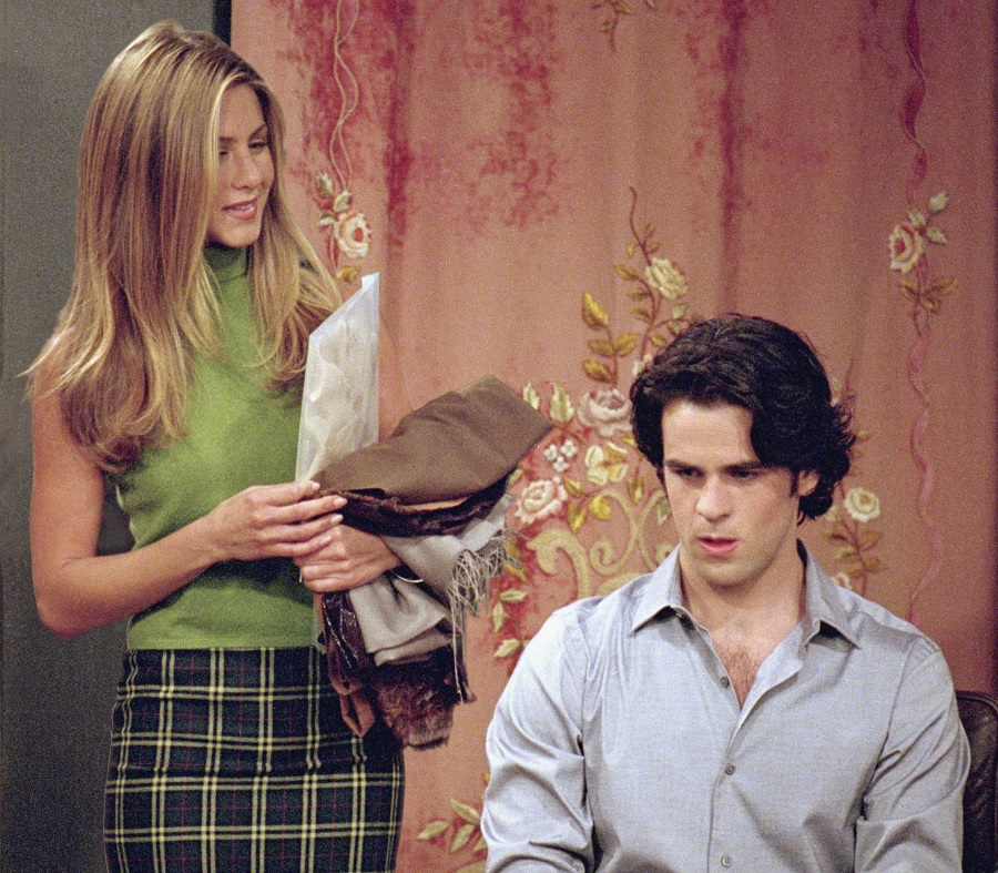 Ralph Lauren launched a collection inspired by former fictional employee Rachel Green
