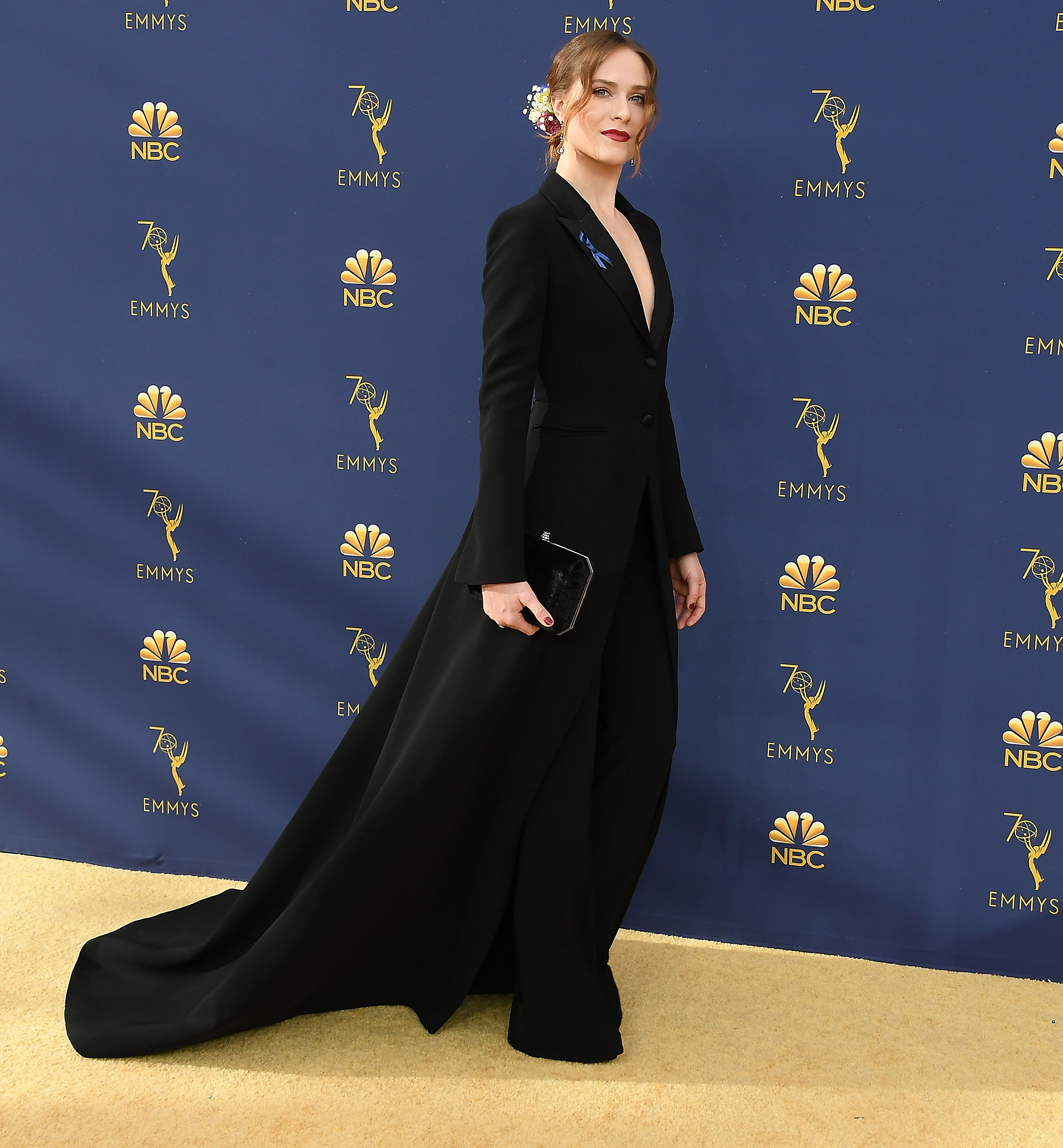 Our favorite Emmys red carpet looks of all time, from feather tutu to tuxedo mini