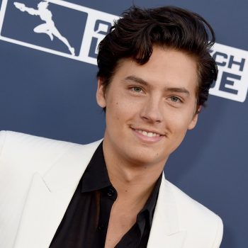 Cole Sprouse threw back to his <em>Friends</em> days with this iconic (stuffed) character, and we're feeling old