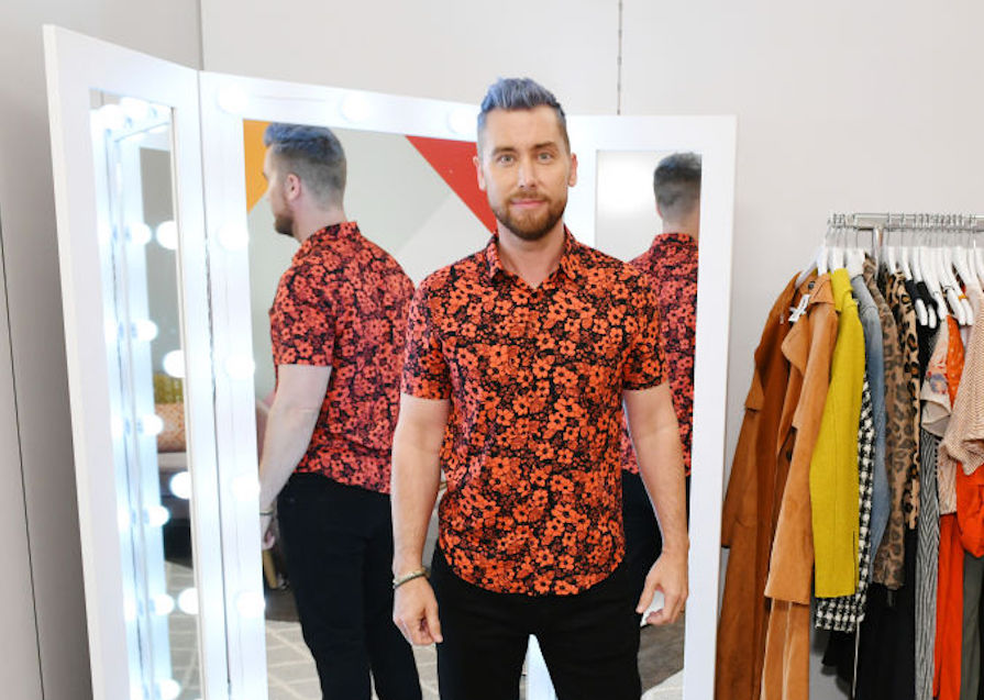 Lance Bass tells us how coming out helped him to love fashion