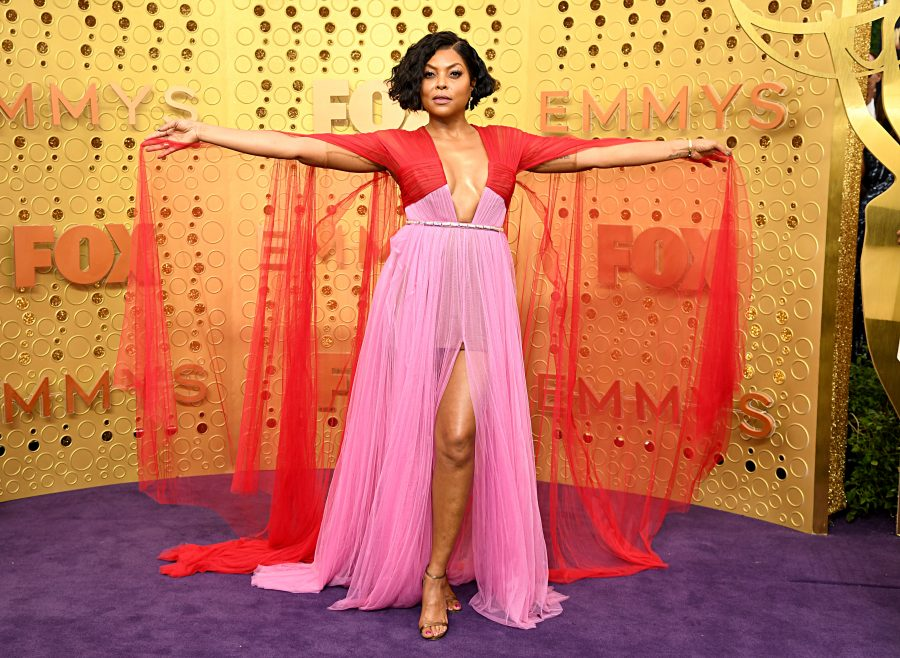 Red and pink is the official color combo trend of the 2019 Emmys