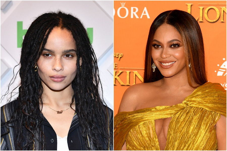 Zoë Kravitz had an epic reaction to Beyoncé dressing up as her mom Lisa Bonet