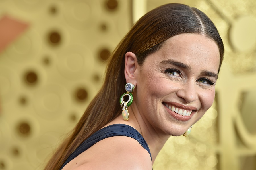 Emilia Clarke says her 2019 Emmys look was inspired by Jennifer Lopez's iconic dress