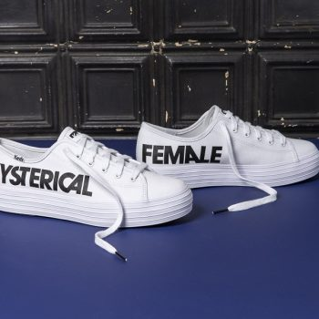 We need these Rachel Antonoff x Keds sneakers for National Voter Registration Day and every day