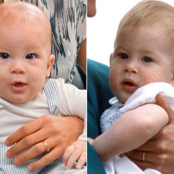 Archie looks exactly like his dad Prince Harry as a baby—see their royal resemblance