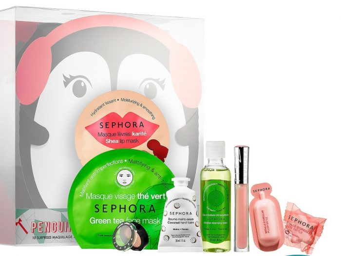 sephora collection penguin's favorite party set