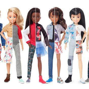 We wish we had Mattel's new gender-inclusive dolls when we were kids