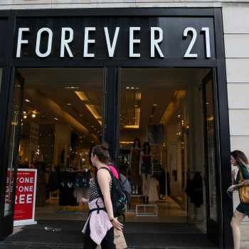 Forever 21 has officially filed for bankruptcy — because it turns out, nothing lasts forever