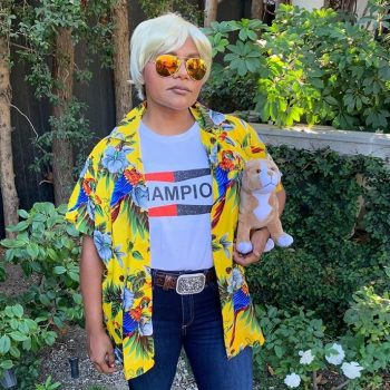 Celebrities brought it with their Halloween costumes this year, and we're inspired