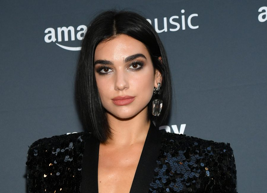 Dua Lipa just debuted rose gold hair—and she looks so different!