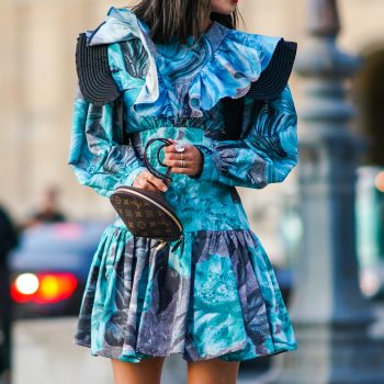 Puff-sleeved dresses are trending for fall, and we can't get enough