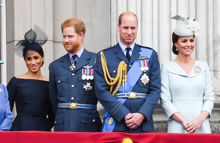 Meghan, Harry, Kate, and Will reunited to share this important message about mental health