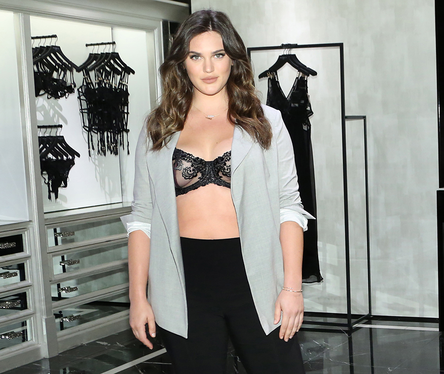 Victoria's Secret finally featured a size 14 model in their latest lingerie collab