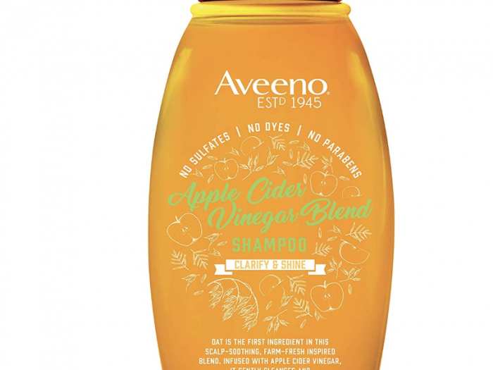 aveeno apple cider vinegar shampoo, best drugstore shampoo for oily hair