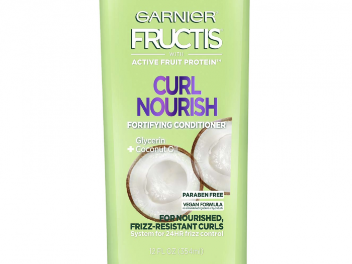garnier curl nourish shampoo, best drugstore shampoo and conditioner