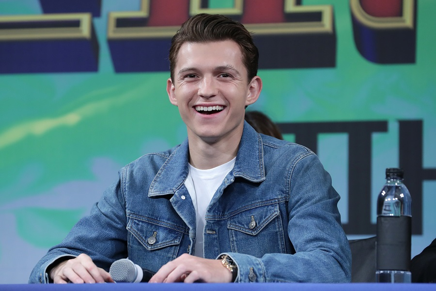 Tom Holland just shaved his head, and the internet is freaking out