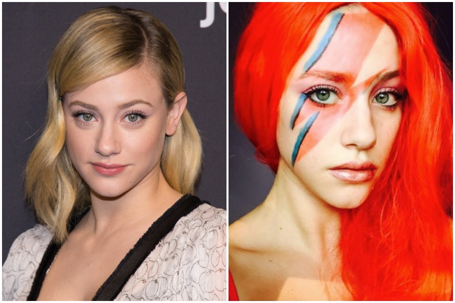 Let Lili Reinhart's incredible Halloween makeup looks inspire your costume this year