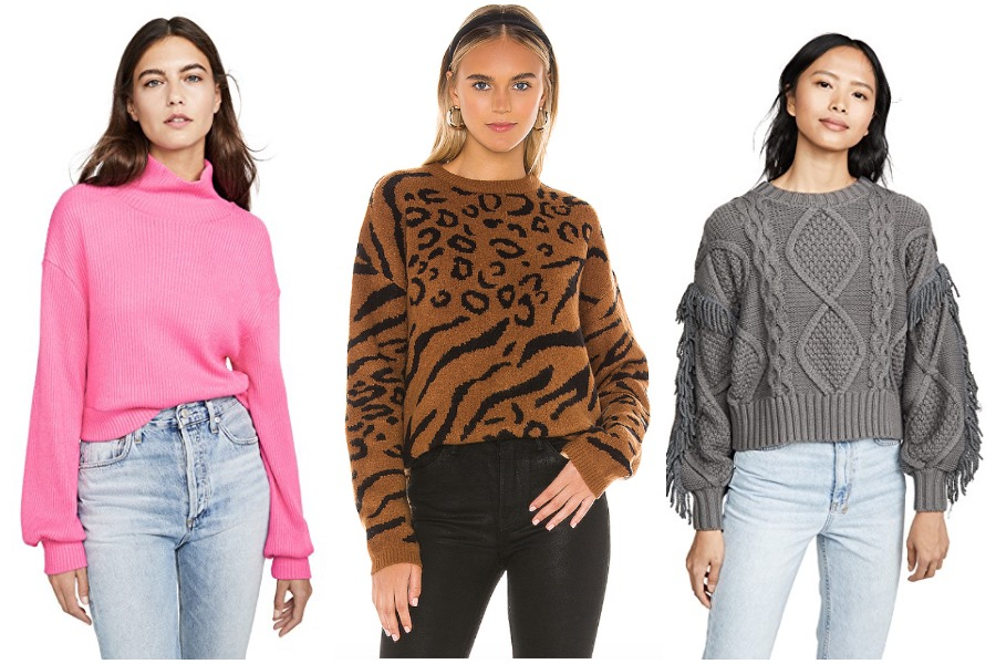 13 sweaters to cozy up in this fall, starting at $30