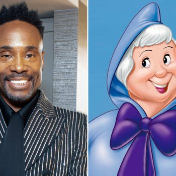 Billy Porter says his fairy godmother will be genderless in the new live-action <em>Cinderella</em> movie
