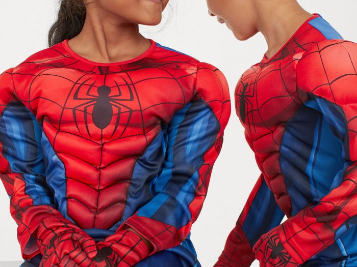 spiderman halloween costume for kids