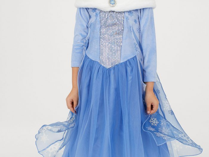 elsa frozen halloween costume for kids