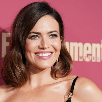 Mandy Moore posted a '90s homecoming throwback photo, and we ALL had this hairstyle