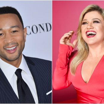 "You can now watch Kelly Clarkson and John Legend perform their new ""Baby, It's Cold Outside"" duet all about consent"