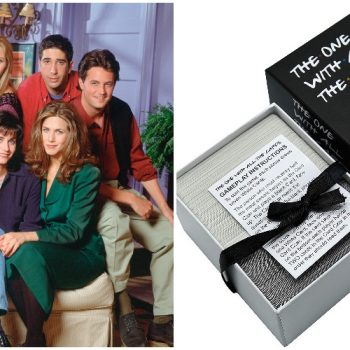 You can get a<i>Friends</i>-themed Cards Against Humanity pack on Amazon for your next viewing party