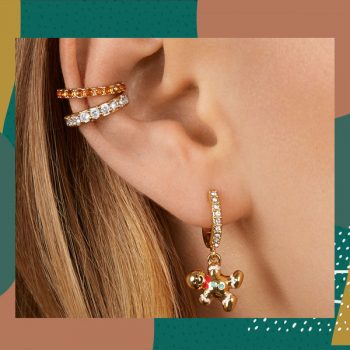 From reindeer earrings to snowflake barrettes, BaubleBar's holiday collection has the accessories your party outfits need