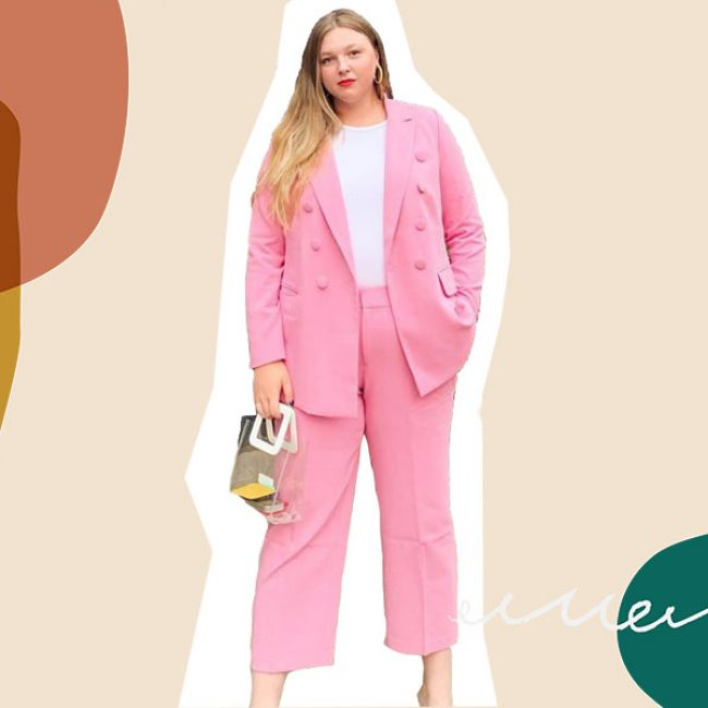 This pink suit changed the way I thought about plus-size clothing