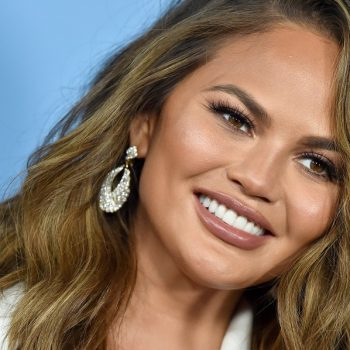 Sorry, Chrissy Teigen, but we won't be talking you out of getting these gorgeous bangs