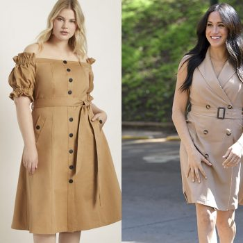 10 plus size versions of Meghan Markle's most popular looks