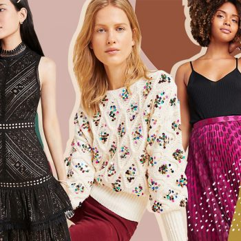 Anthropologie's new holiday clothes are all so merry and bright