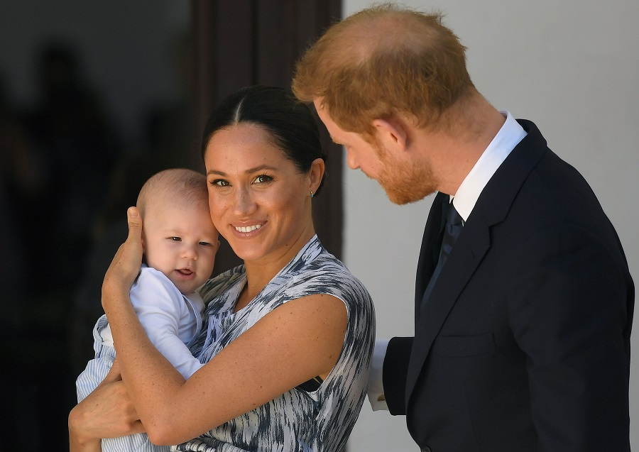 Meghan Markle and Prince Harry shared a never-before-seen photo of Archie, and can we babysit?
