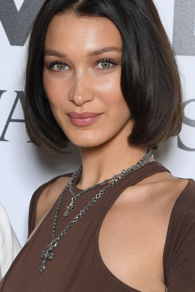 Bella Hadid Has Her Shortest Bob Yetwith A New Hair Color