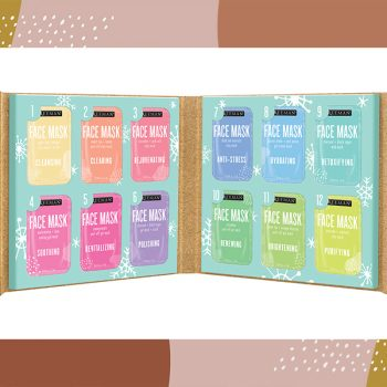This $10 face mask advent calendar is the gift that keeps on giving—glowing skin, that is