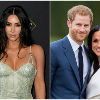"Kim Kardashian can ""definitely empathize"" with Prince Harry and Meghan Markle's need for privacy"