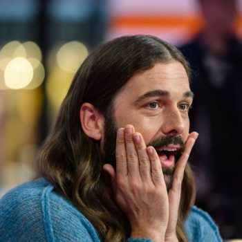 Jonathan Van Ness just made history as <em>Cosmo</em> UK's cover star and no, we can't believe the GLAMOUR