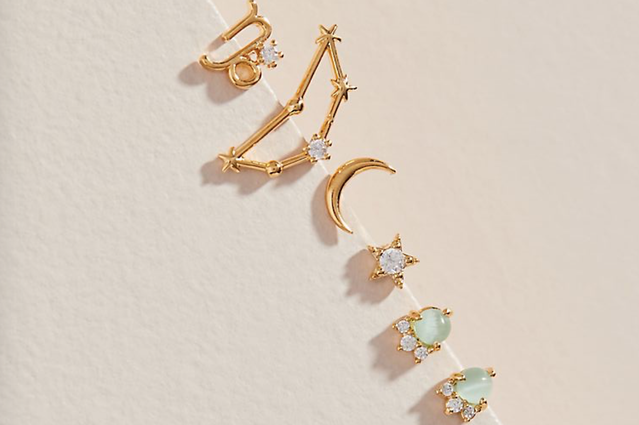 Zodiac earrings are the best new accessories trend