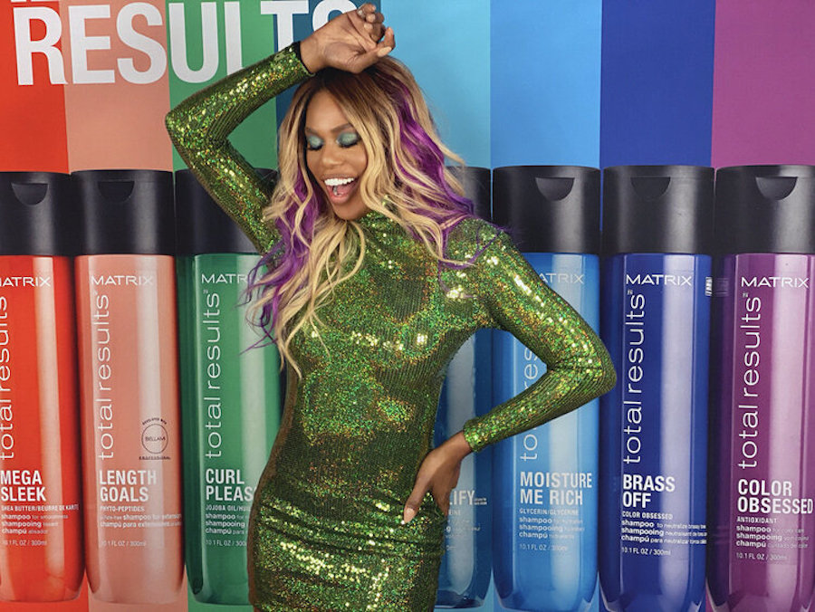 Laverne Cox talks about her hair journey and feeling beautiful at age 47