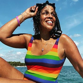 Gayle King is fully embracing her cellulite in these unretouched swimsuit photos, and we're loving it
