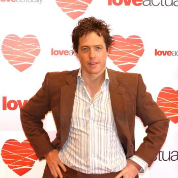Hugh Grant despises the happiest scene in <em>Love Actually</em>, and we can't accept this Grinch moment