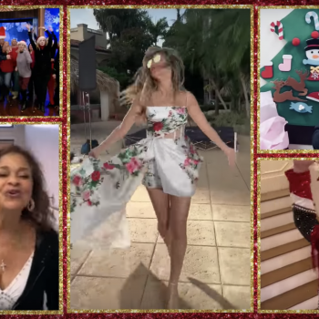 "All of our favorite celebs just sang ""All I Want For Christmas Is You"" together, and it's a Christmas miracle"