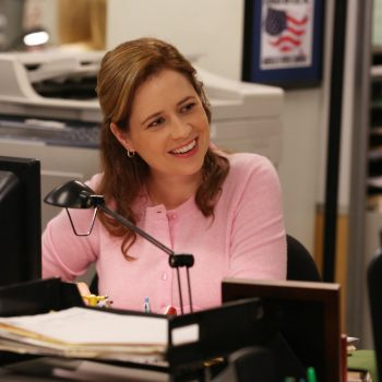 "There was a mini ""Office"" reunion, and Jenna Fischer hints she would love to do a ""reunion special"""