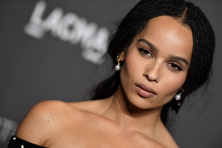 Zoë Kravitz clapped back at a troll who made a completely inappropriate comment about her skin tone