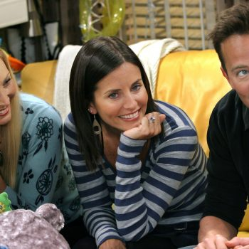 The actress who played Emma in <em>Friends</em> just responded to Chandler's joke about 2020