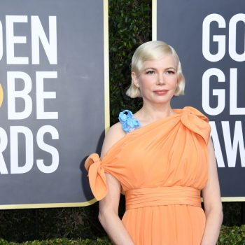 Michelle Williams delivered a mic-drop of an acceptance speech you have to hear
