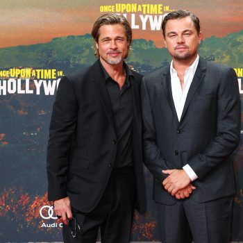 """Brad Pitt said he would have """"shared the raft"""" with Leonardo DiCaprio in <em>Titanic</em>, and we agree"""