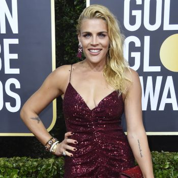 Busy Phillips reveals she used boob sweat spray at the Golden Globes—and we've never related to her more